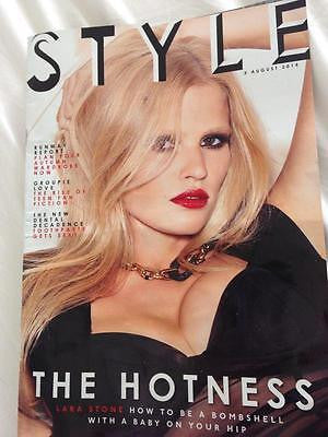 Style Magazine - August 2014 - Lara Stone Photo Cover Interview Shoot