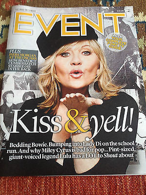 EVENT MAGAZINE MARCH 2015 LULU RUFUS SEWELL BENEDICT CUMBERBATCH RUSSELL TOVEY