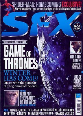 UK SFX Magazine August 2017 Game of Thrones =Exclusive Spider-Man Homecoming