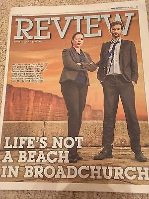 UK Express Review February 2017 Broadchurch David Tennant & Olivia Colman