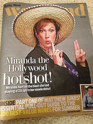 MIRANDA HART PHOTO INTERVIEW WEEKEND MAGAZINE 2015 ANTHONY ANDREWS JOSH GROBAN