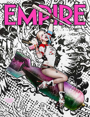 EMPIRE MAGAZINE SEPTEMBER 2016 HARLEY QUINN SUICIDE SQUAD UK COLLECTOR'S COVER