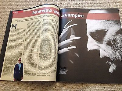 MARK STRONG interview SHARON VAN ETTEN UK 1 DAY ISSUE 2014 Mary Lynn Rajskub 24