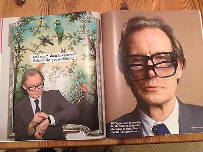 TIMES MAGAZINE AUGUST 2014 BILL NIGHY PHOTO INTERVIEW ON PRIDE