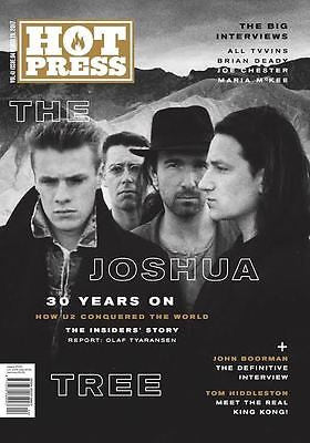 Hot Press magazine - March 2017 - U2 - The Joshua Tree - 30 Years On