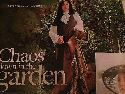 ALAN RICKMAN Greta Scacchi ART GARFUNKEL James Wilby UK 1 Day Magazine 2015 NEW