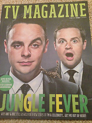 TV Magazine 11/2015 ANT & DEC Mark Gatiss CLAIRE GOOSE Emma Barton NEW UK ISSUE