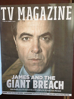 SUN TV Magazine 04/2016 JAMES NESBITT Emma Willis VICKY McCLURE Martin Compston