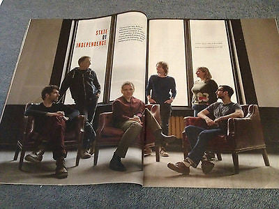 NEW REVIEW JAN 2015 BELLE & SEBASTIAN MATT LANKES DIANA KRALL RUSSELL T DAVIES