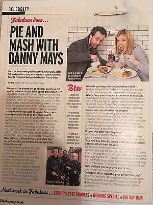 UK Fabulous Magazine April 2017 Emma Bunton Spice Girls Interview Daniel Mays