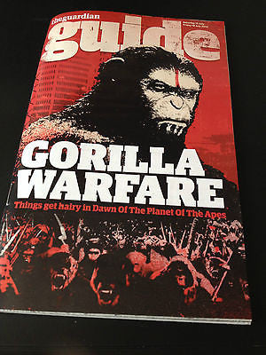 Dawn of the Planet of the Apes Neil Maskell Bob Marley Guide Magazine July 2014