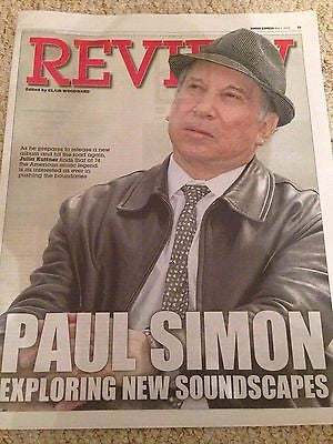 Stranger to Stranger PAUL SIMON PHOTO COVER INTERVIEW May 2016