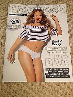 MARIAH CAREY interview NOTEBOOK MAGAZINE UK 1 DAY ISSUE 2014 NICOLA ROBERTS
