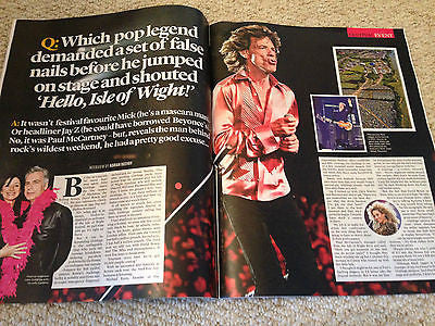 EVENT MAGAZINE JUNE 2015 MICK JAGGER FLEETWOOD MAC STEVIE NICKS BRADLEY COOPER