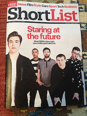 SHORTLIST MAGAZINE NOV 2014 GEORGE MACKAY TOM HUGHES STACY MARTIN ROGER FEDERER