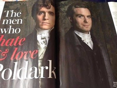 Poldark JACK FARTHING Luke Norris THE BEATLES UK Radio Times Magazine Sept 2016