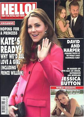 KATE MIDDLETON ROYAL BABY NUMBER TWO UK HELLO! MAGAZINE 1376 APRIL 2015