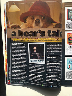 BEN WHISHAW interview PADDINGTON UK ONLY ISSUE 2014