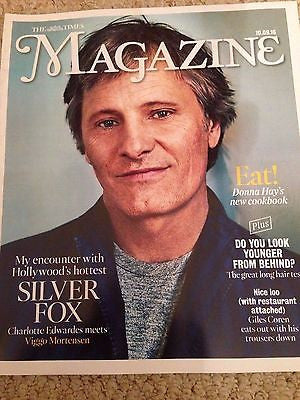 VIGGO MORTENSEN Melania Trump Photo Cover Interview Times Magazine Sept 2016