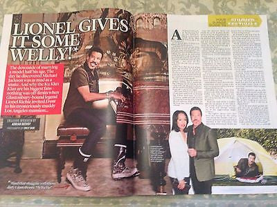 LIONEL RICHIE PHOTO INTERVIEW EVENT MAGAZINE APRIL 2015 RICK WAKEMAN CHRIS EVANS