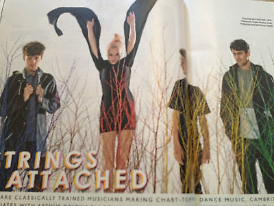 CLEAN BANDIT PHOTO INTERVIEW MAGAZINE MAY 2014