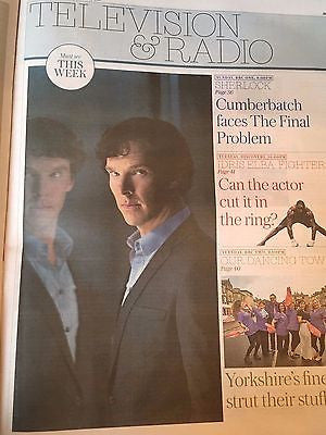UK Telegraph Review January 2017 Matthew McConaughey Benedict Cumberbatch