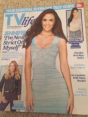 TV LIFE MAGAZINE SEPT 2016 Jennifer Metcalfe Frankie Gaff Kourtney Kardashian