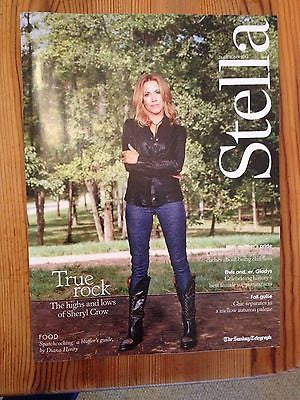 SHERYL CROW UK PHOTO INTERVIEW OCTOBER 2014 ELVIS PRESLEY GLADYS ANDY WARHOL