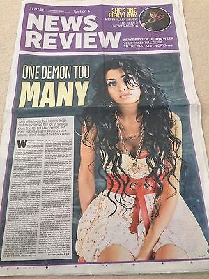 AMY WINEHOUSE PHOTO COVER SPECIAL EDITION JULY 2011
