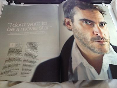 JOAQUIN PHOENIX interview ZACHARY QUINTO UK 1 DAY ISSUE 2014