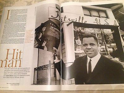BERRY GORDY interview DIANA ROSS the supremes UK 1 DAY ISSUE 2016