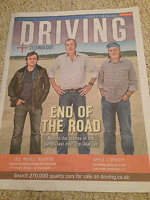 TOP GEAR final episode RICHARD HAMMOND James May JEREMY CLARKSON 06/2015 NEW