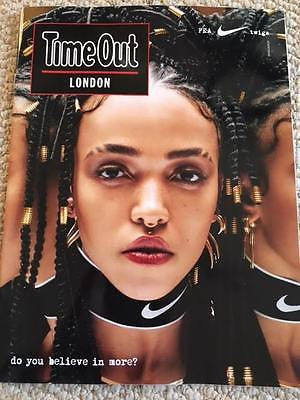 FKA TWIGS - Cover - Time Out London UK magazine January 2017