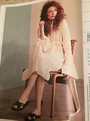 Poldark ELEANOR TOMLINSON AIDAN TURNER PHOTOS UK STELLA MAGAZINE AUGUST 2016