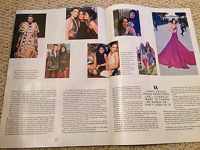 (UK) STYLE MAGAZINE MAY 2015 KENDALL & KYLIE JENNER PHOTO INTERVIEW
