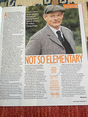 SATURDAY MAGAZINE FEB 28 2015 THE SWEET UNA STUBBS KELLY ADAMS MARTIN CLUNES