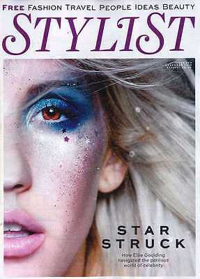 BRAND NEW STYLIST MAGAZINE DECEMBER 2013 ELLIE GOULDING UK EXCLUSIVE