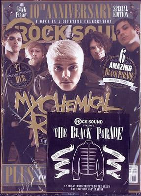 ROCK SOUND magazine - October 2016 My Chemical Romance cover & Black Parade CD
