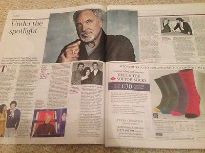 Telegraph Living Oct 11 2015 SIR TOM JONES PHOTO INTERVIEW LEE MILLER