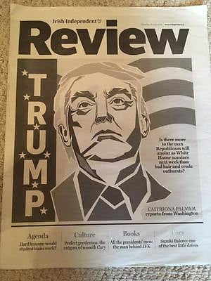 Irish Independent Review 16 July 2016 - President DONALD TRUMP Cover
