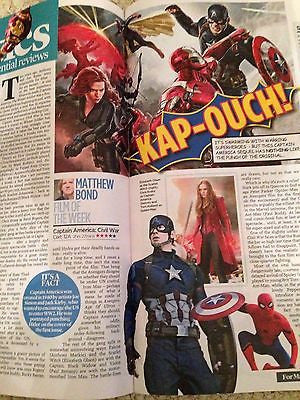 EVENT MAGAZINE May 2016 CYNDI LAUPER UK interview CHRIS EVANS Kit Harington