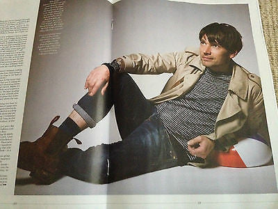 BESPOKE MAGAZINE MARCH 2014 ALEX JAMES BLUR PHOTO INTERVIEW BRAND NEW