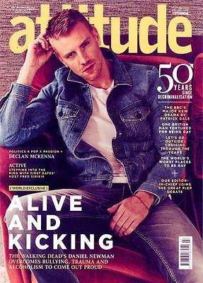UK Attitude Magazine August 2017 The Walking Dead Daniel Newman Declan McKenna