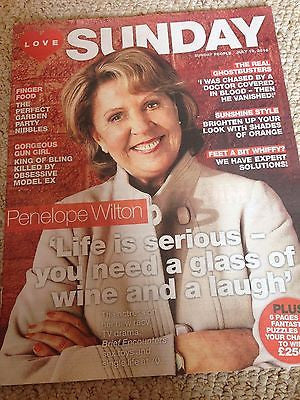 Downton Abbey PENELOPE WILTON PHOTO UK COVER SUNDAY MAGAZINE JULY 2016