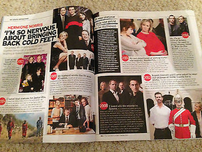 Notebook magazine May 2016 HERMIONE NORRIS interview ROBSON GREEN cillian murphy