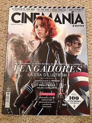 CINEMANIA MAYO 2015 AVENGERS: AGE OF ULTRON SPECIAL CHRIS HEMSWORTH CHRIS EVANS