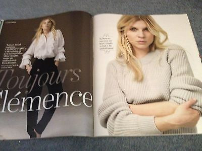 CLEMENCE POESY PHOTO INTERVIEW YOU MAGAZINE JANUARY 2015 ZOE ZOELLA RAE MORRIS
