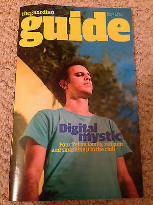 FOUR TET PHOTO INTERVIEW UK GUARDIAN GUIDE MAGAZINE JULY 2015 CRAIG DAVID