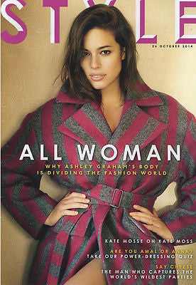 STYLE Magazine Ashley Graham Photo Cover Interview 2014