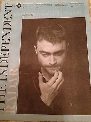 Harry Potter DANIEL RADCLIFFE PHOTO INTERVIEW UK MAGAZINE JAN 2016 TAYLOR SWIFT